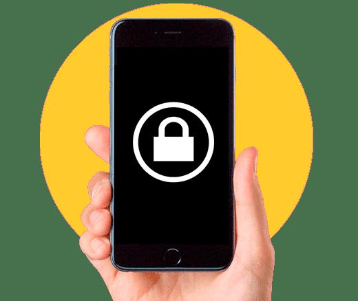 кнопка блокировки iphone