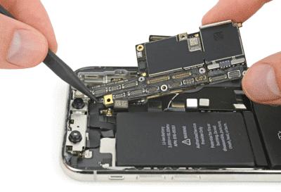 Замена платы айфон
