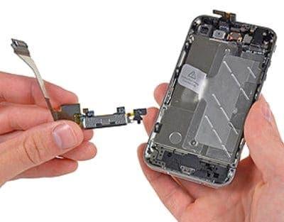 нижний шлейф айфон