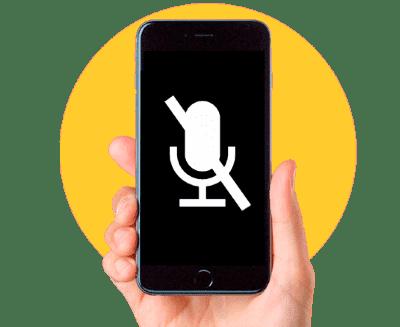 замена микрофона айфон