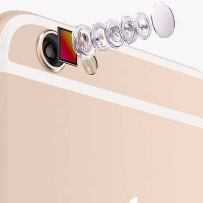 замена камеры айфон 6