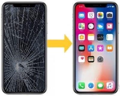 замена экрана айфон х