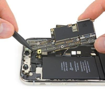 замена контроллера питания айфон 10