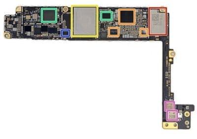 Замена контроллера iPhone 8