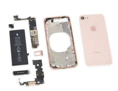 замена корпуса айфон 8