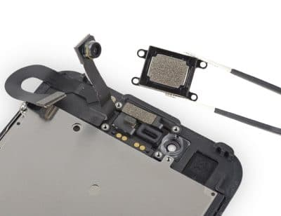 змена слухового динамика айфон 8
