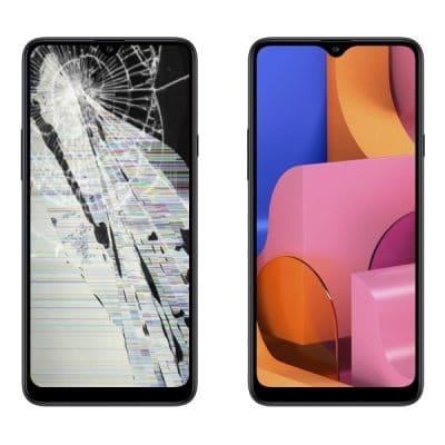Замена дисплея (стекла) Samsung S20
