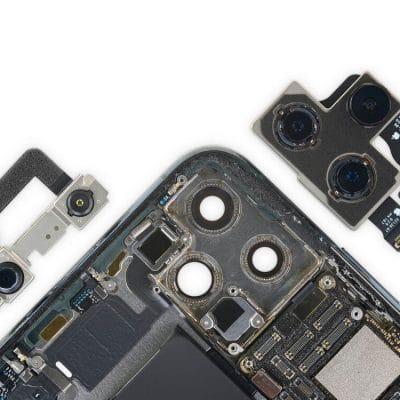 замена камеры Айфон 12