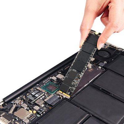macbook замена ssd